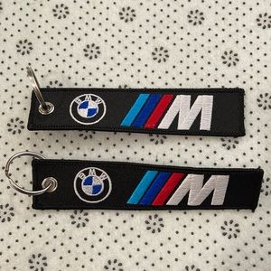 Set/2 new BMW key chains
